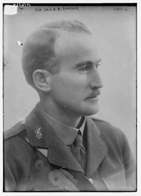 Sir Geo. A.D. Dunbar