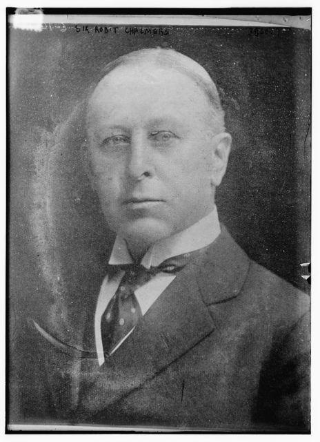 Sir Robt Chalmers