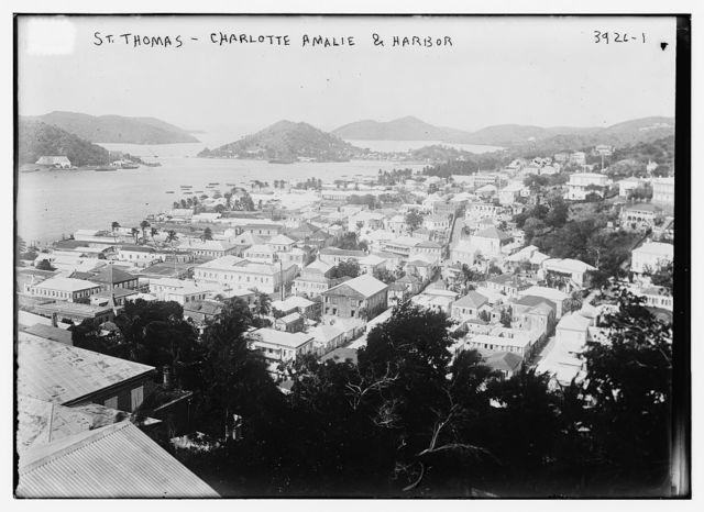St. Thomas -- Charlotte Amalie & Harbor