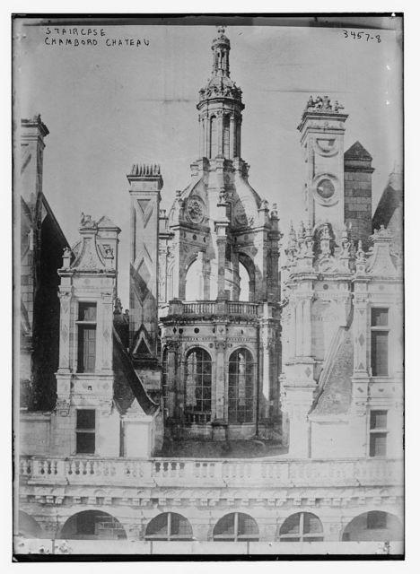 Staircase Chambord Chateau