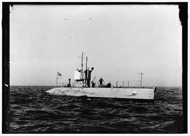 Submarine, #40, the USS L-1 (SS-40)