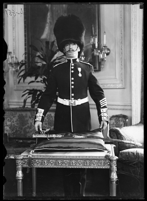 Sword and guard, English Embassy