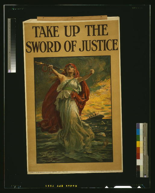 Take up the sword of justice / B.P.