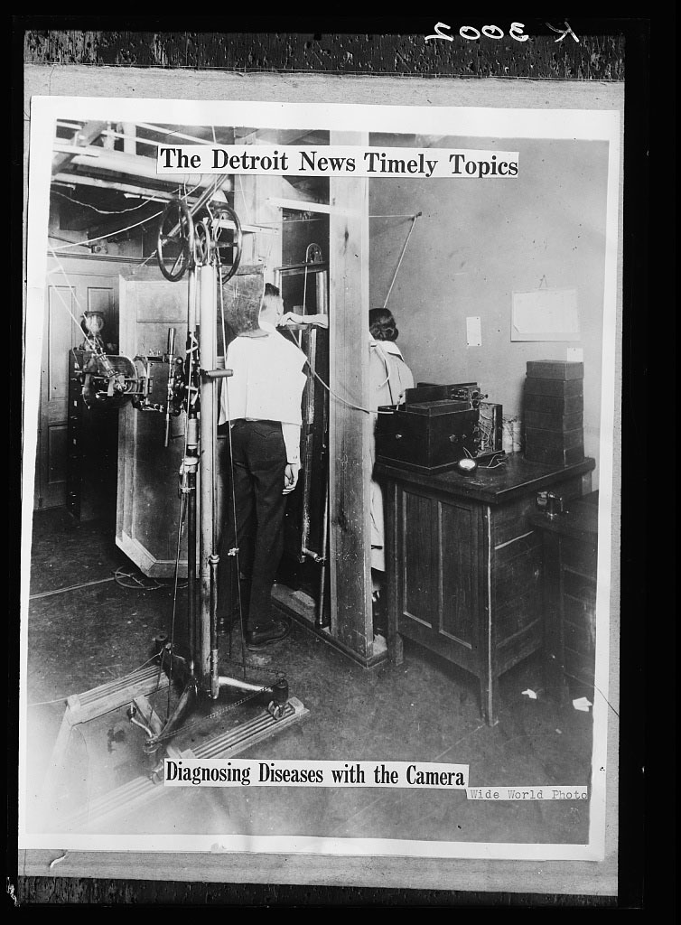 The Detroit news timely topics.  Diagnosing diseases with the camera