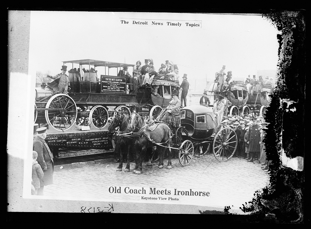 The Detroit news timely topics.  Old coach meets ironhorse
