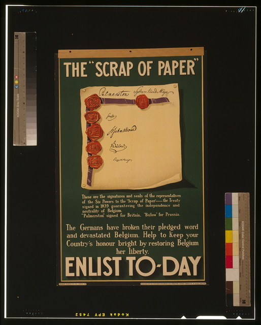 "The ""scrap of paper."" Enlist to-day / Johnson, Riddle & Co., Ltd., London, S.E."