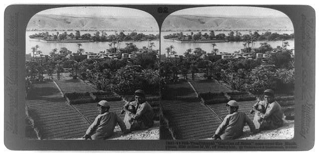 "Traditional ""Garden of Eden,"" east over the Euphrates, 250 miles N.W. of Babylon"