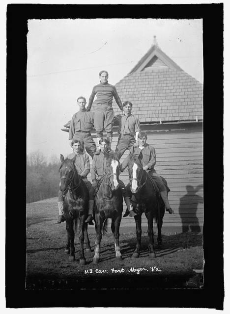 U.S. Army, U.S. Cavalry, Ft. Myer, Va. (prior to 1915)