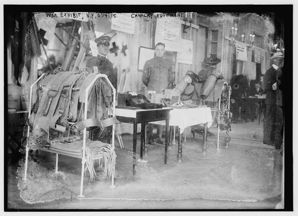 War exhibit -- N.Y., 61415, cavalry equipment