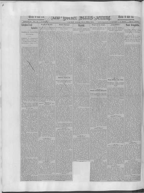 World War history : daily records and comments as appeared in American and foreign newspapers, 1914-1926 (New York), March 4, 1915, (1915 March 4-8)