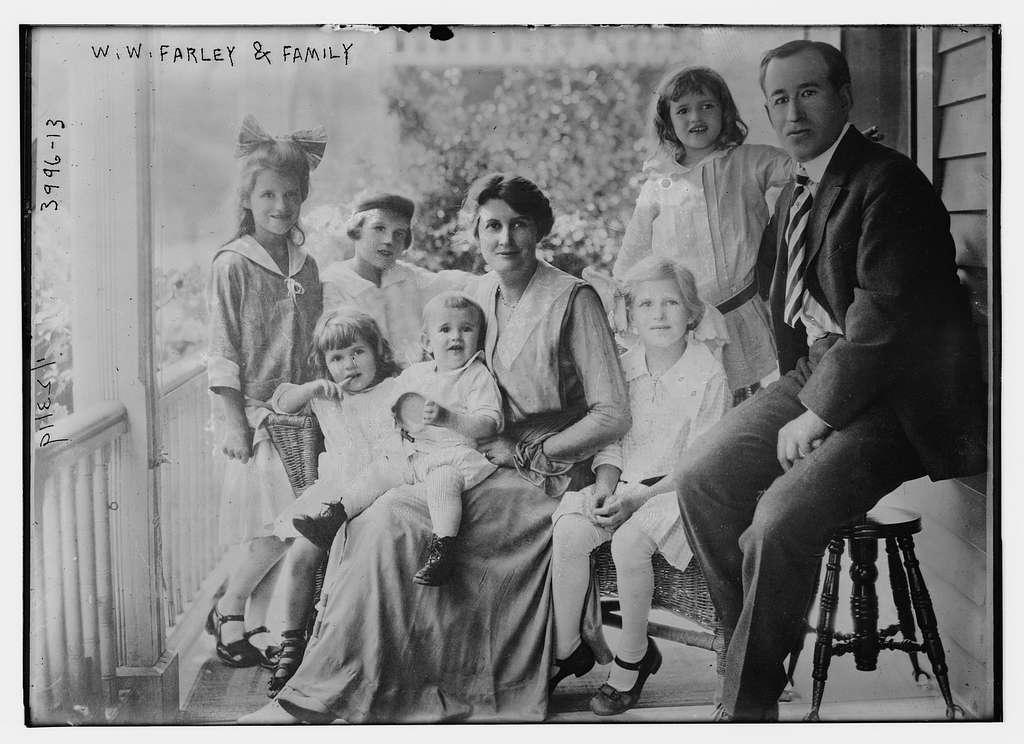 W.W. Farley & family