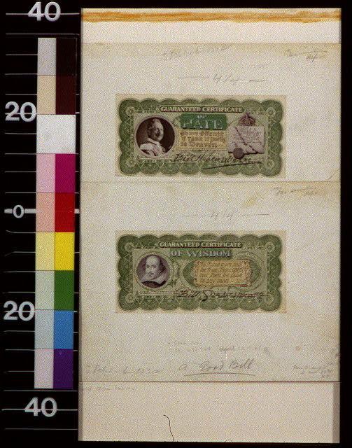 A good bill : guaranteed certificate of wisdom