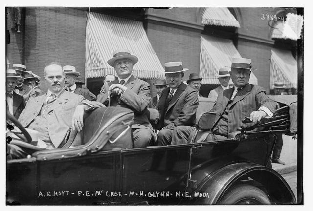 A.E. Hoyt, P.E. McCabe, M.H. Glynn, N.E. Mack