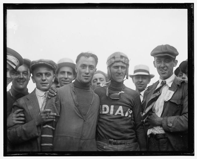 Auto races, Benning, Md. Labor Day, 1916