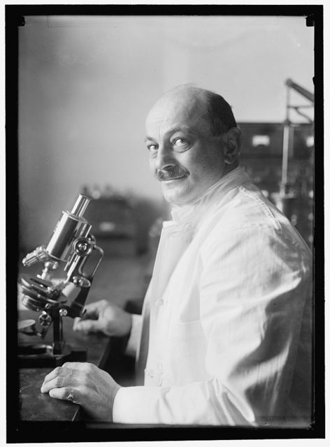 BACTERIOLOGY. BACTERIOLOGIST AT G.W. UNIVERSITY WHO WAS SUPPOSED TO HAVE DISCOVERED T.B. GERM