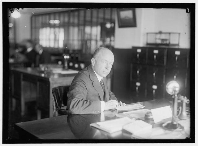 BONNAFFON, EDMUND W. PAY INSPECTOR, NAVY YARD. AT DESK