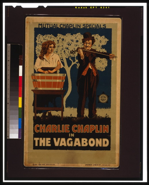 Charlie Chaplin in the vagabond / Greenwich Litho. Co. N.Y.