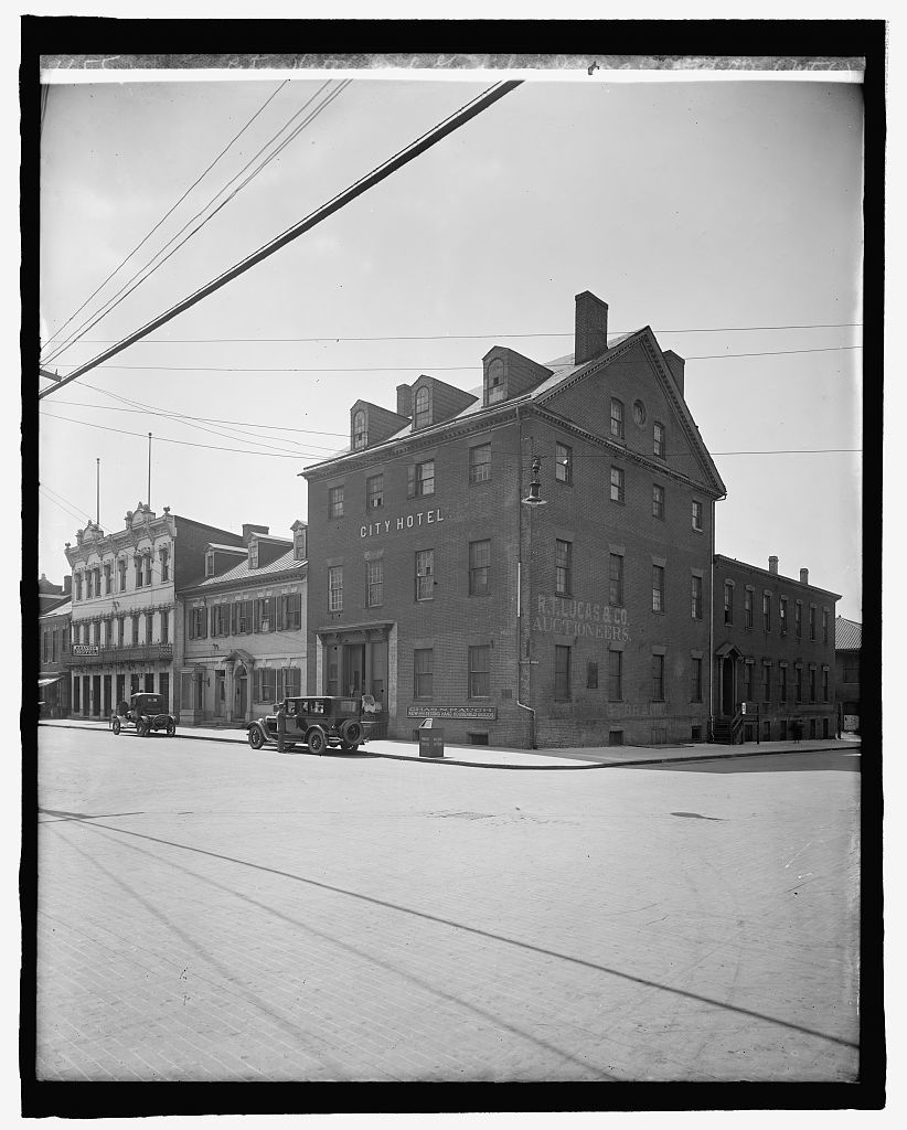 City Hotel and Gadsby's Inn, Alex. [Virginia] (Ford Motor Co.)