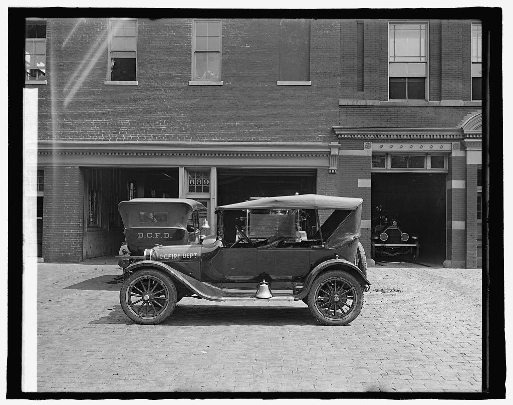 D.C. Fire Dept. car for Semmes Motor Co.