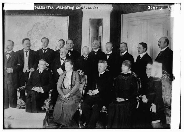 Delegates, Mediation Conference