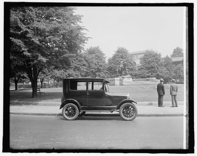 Ford at Sheridan Statue, [Washington, D.C.]