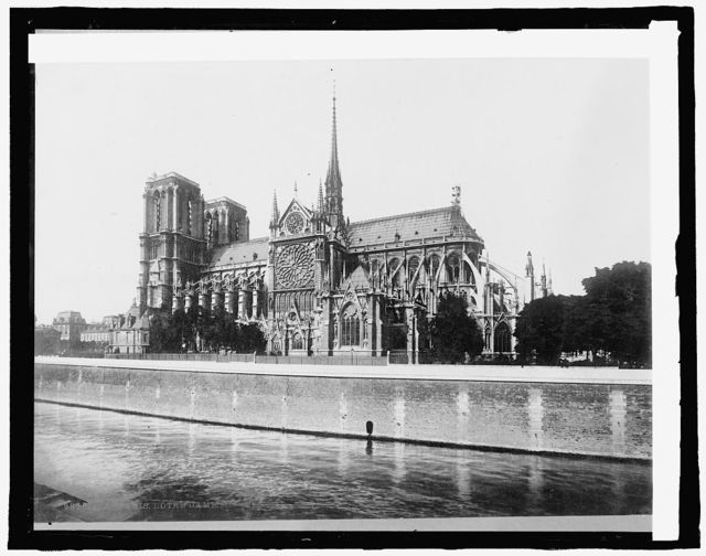 France, Notre Dame Cathedral, Paris