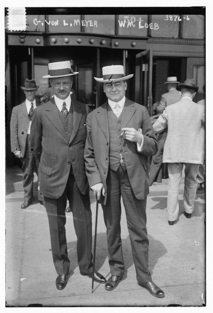 G. Von L. Meyer, Wm. Loeb