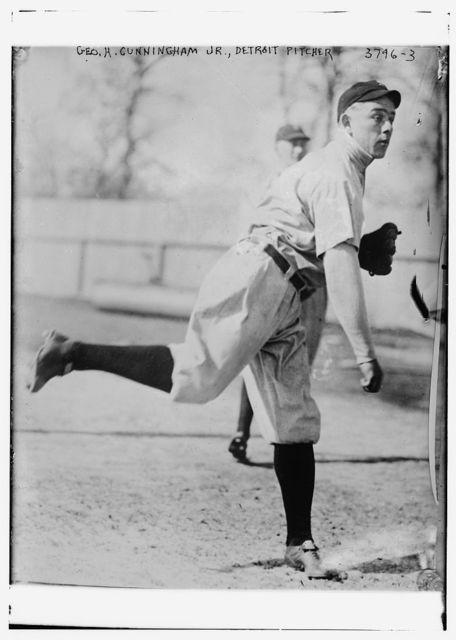 [George Cunningham, pitcher, Detroit AL (baseball)]