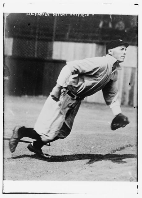 [George Harper, outfield, Detroit AL (baseball)]