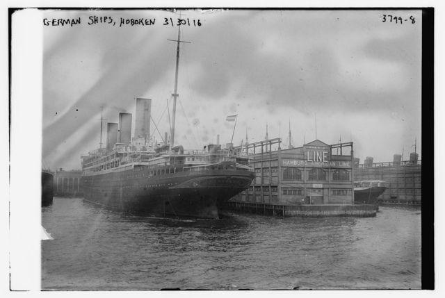 German Ships, Hoboken, 3/30/16