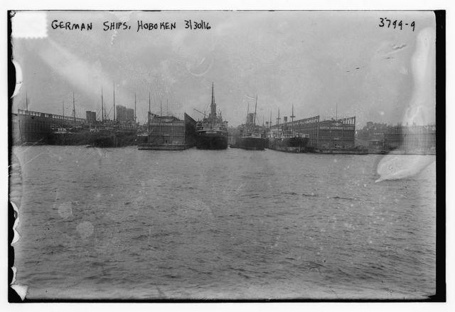 German Ships, Hoboken, 3/30/16 [VATERLAND]