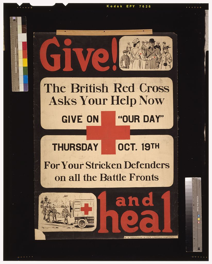 Give! and heal / W.S. Johnston & Co'y, Limited, Toronto.