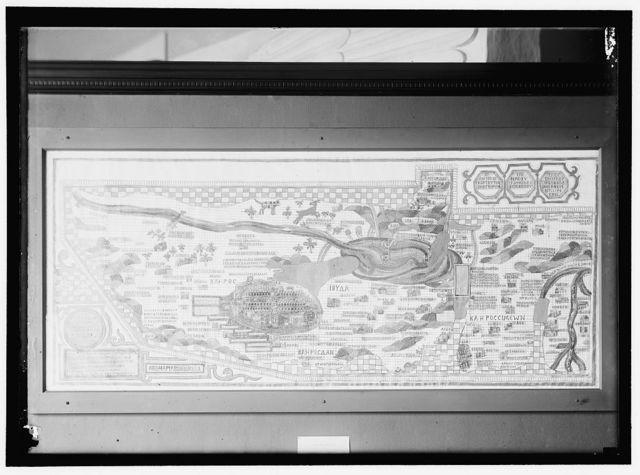 GREEK CHART OR MAP