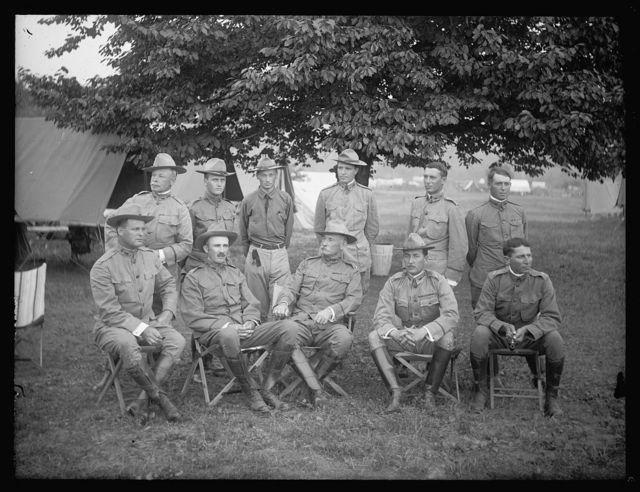 [Group portrait, Cavalry]
