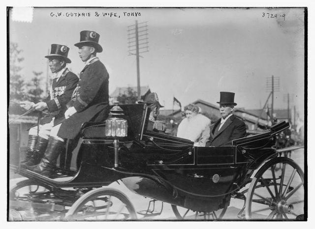 G.W. Guthrie & wife, Tokyo