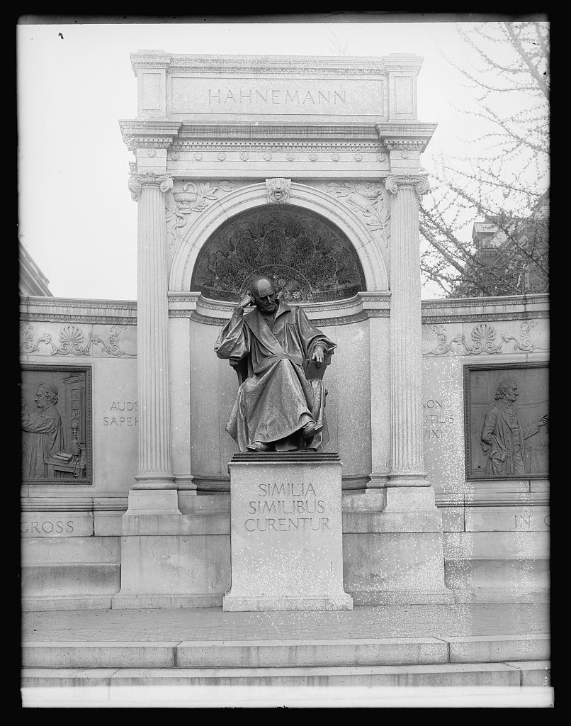 Hahnemann Statue, [Washington, D.C.]