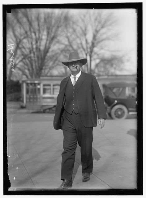 HAYDEN, CARL. REP. FROM ARIZONA, 1912-1927; SENATOR, 1927-
