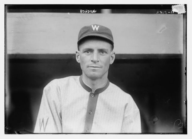 [Henri Rondeau, Washington AL (baseball)]