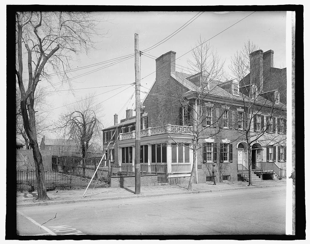 Home of Light Horse Harry Lee, Alex., Va. (Ford Motor Co.)