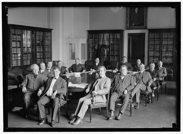 HOUSE OF REPRESENTATIVES COMMITTEES. WAYS AND MEANS. FR.: H.T. RAINEY OF IL; CLAUSE KITCHIN OF NC, CHAIRMAN; L. DIXON OF IL; M.F. CONGRY OF NY; C. HULL OF TN; A.J. SABATH OF IL; J.N. GARNER OF TX; RR: J.W. CO