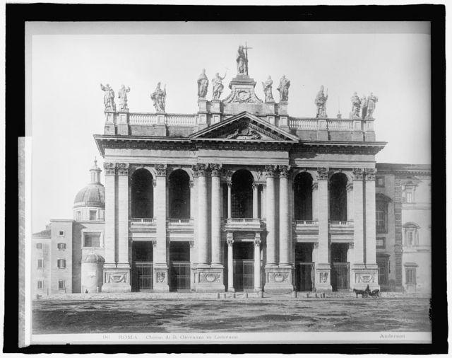 Italy, Rome, Ch. of St. John's (San Giovanni in Laterano)