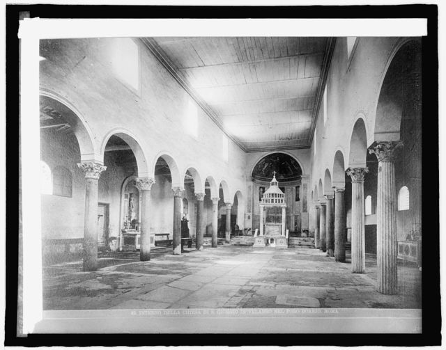 Italy, Rome, interior of St. George's