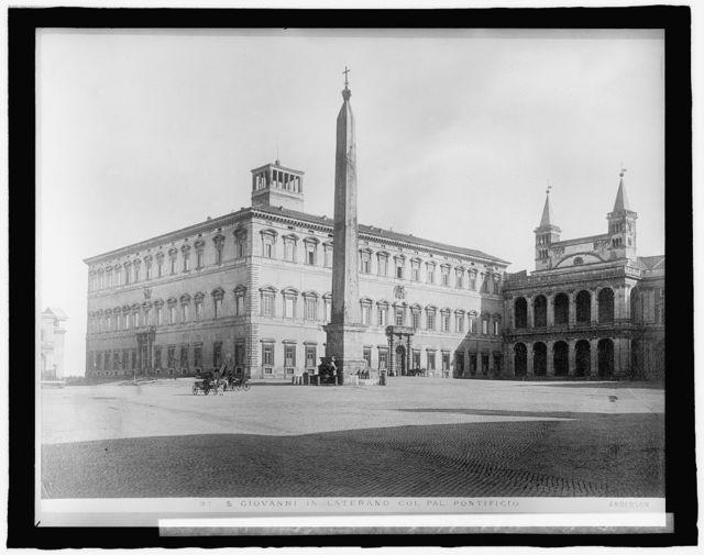 Italy, Rome, St. John's (San Giovanni in Laterano)