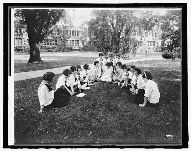 Labor summer school for women workers, Bryn Mawr College, [Bryn Mawr, Pennsylvania]