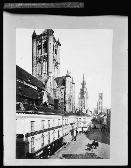 L'eglise de St. Nicolas et Bavon