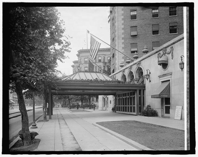 Mayflower Hotel (Conn. Ave. entrance), [Washington, D.C.]