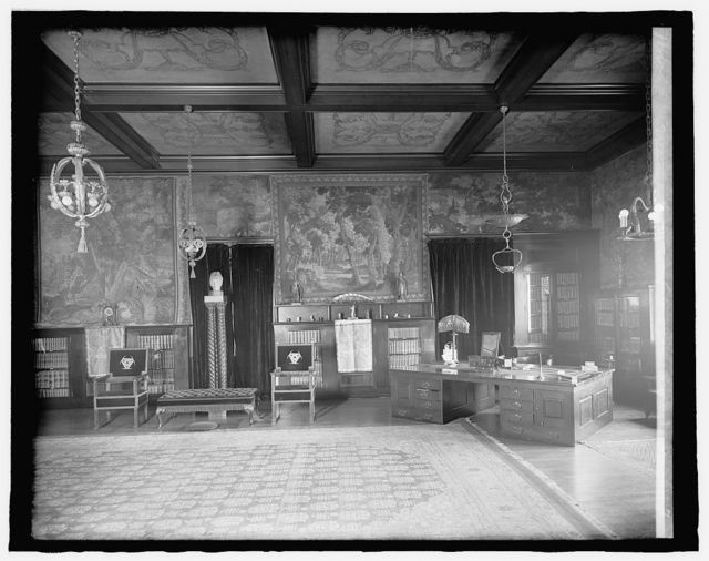 Mexican Embassy, [Washington, D.C.], drawing room