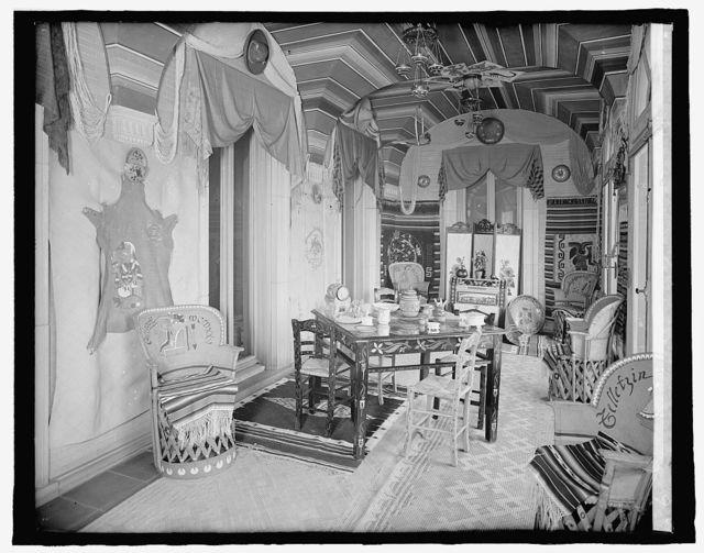 Mexican Embassy, [Washington, D.C.], Mexican Room