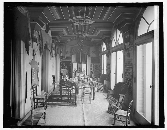 Mexican Embassy, [Washington, D.C.], Mexican Room (not ordered)