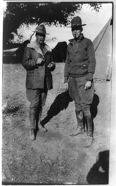 [Mexico - U.S. campaign against Villa - 1916. Col. Herbert J. Slocum who was in Columbus, N.M., at the time of the Villa raid and Maj. John L. Hines]